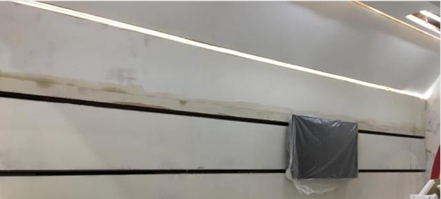 济南电动移动滑轨屏与展厅设计